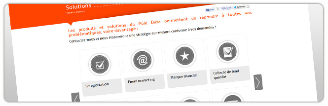 Carrecom web agency Le Pole Data