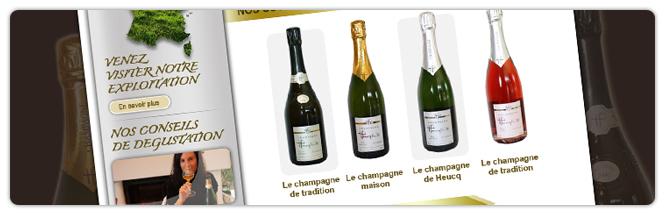 Carrecom web agency Champagne Heucq