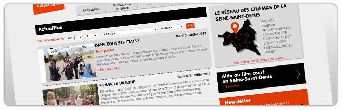 Carrecom web agency Cin?mas 93