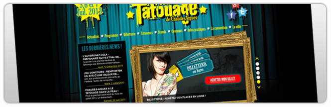 Carrecom Festival Tatouage de ChaudesAigues