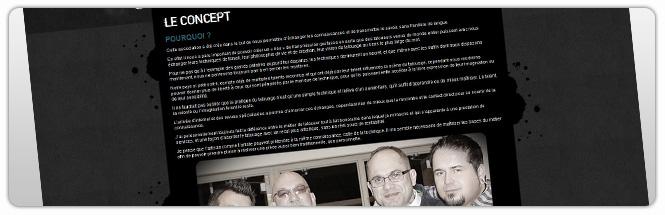 Carrecom web agency Tatouage & Partage